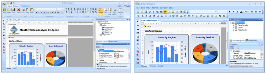 Click to view Data-Reports.NET screenshots